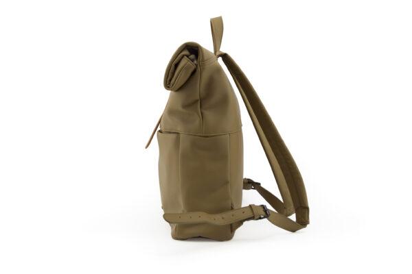 backpack olive zijkant