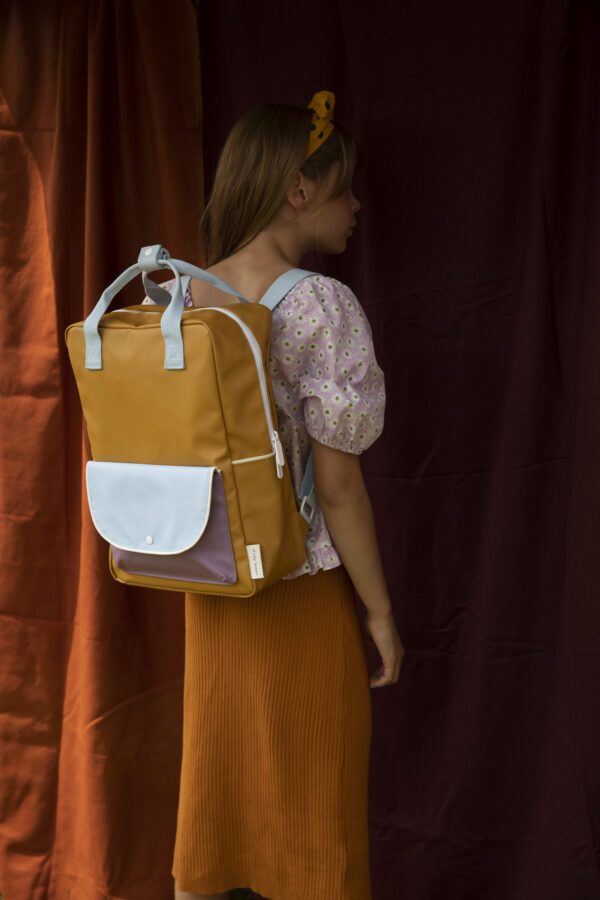 Sticky lemon Large backpack
