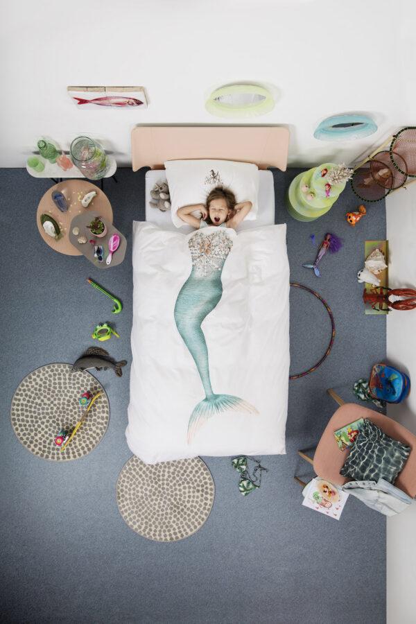 Beddengoed mermaid