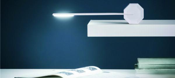 White-Octagon lamp